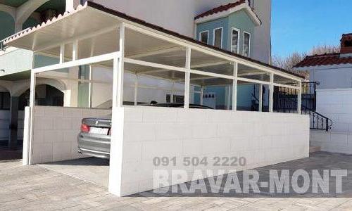 Bravar-Mont-533 auto parking nadstresnice sjenice