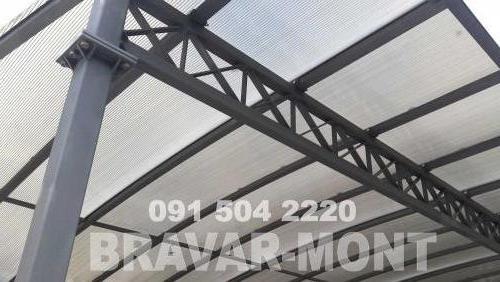 Bravar-Mont-535 auto parking nadstresnice sjenice