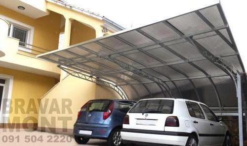 Bravar-Mont-536 auto parking nadstresnice sjenice