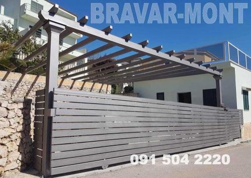 Bravar-Mont-540 auto parking nadstresnice sjenice