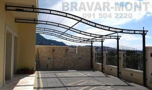 Bravar-Mont-541 auto parking nadstresnice sjenice
