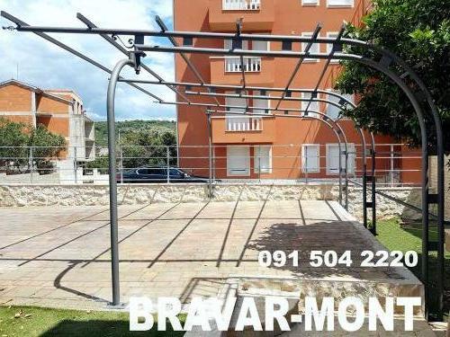 Bravar-Mont-545 auto parking nadstresnice sjenice