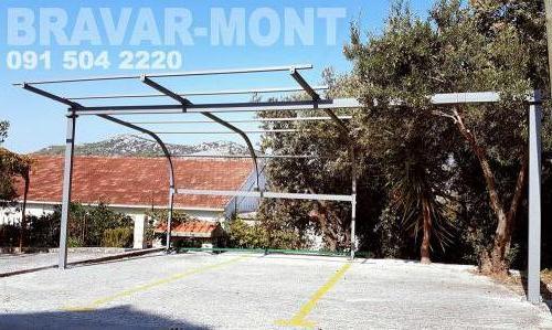 Bravar-Mont-546 auto parking nadstresnice sjenice