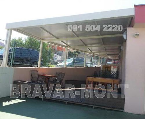 Bravar-Mont-599 celicne konstrukcije nadstresnice