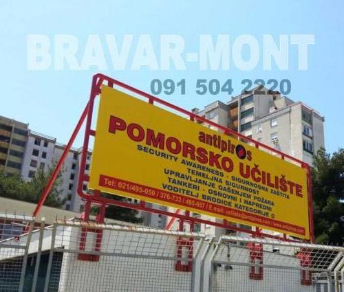 Bravar-Mont-609 celicne konstrukcije nadstresnice