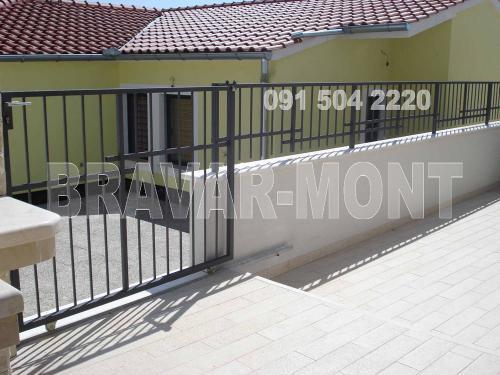 Bravar-Mont-369 jednostavne kapije ograde