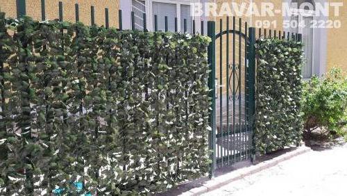 Bravar-Mont-375 jednostavne kapije ograde