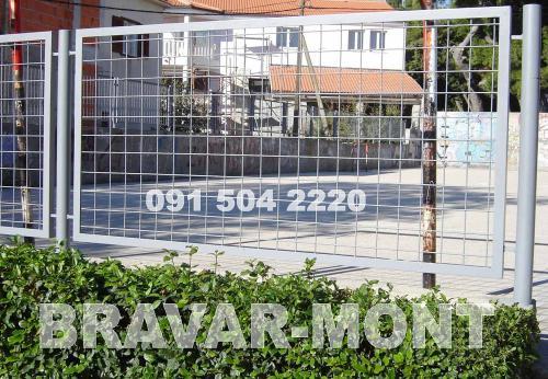 Bravar-Mont-401 jednostavne kapije ograde
