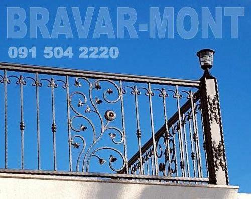Bravar-Mont-151 kovane ograde za balkone i terase