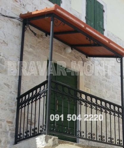 Bravar-Mont-156 kovane ograde za balkone i terase
