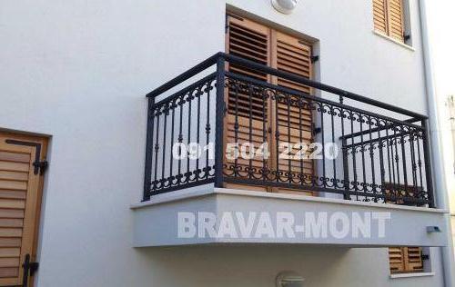 Bravar-Mont-162 kovane ograde za balkone i terase