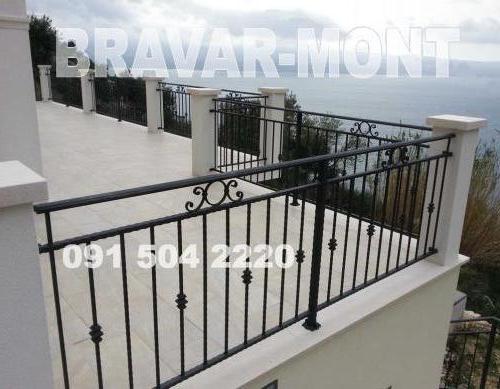 Bravar-Mont-175 kovane ograde za balkone i terase