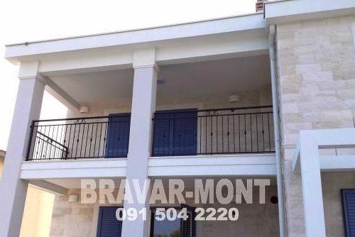 Bravar-Mont-177 kovane ograde za balkone i terase