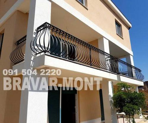 Bravar-Mont-189 kovane ograde za balkone i terase