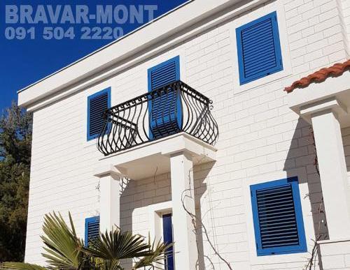 Bravar-Mont-190 kovane ograde za balkone i terase