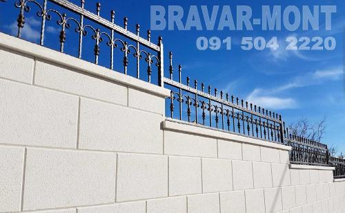 Bravar-Mont-202 kovane ograde za dvorista