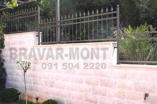 Bravar-Mont-206 kovane ograde za dvorista