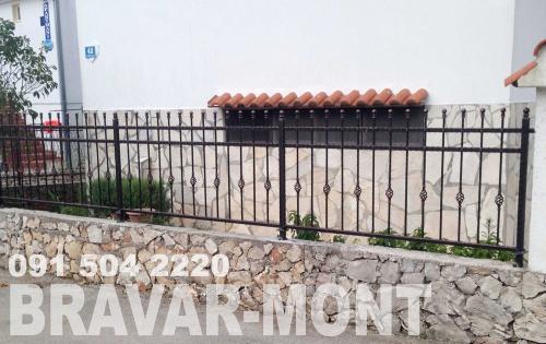Bravar-Mont-207 kovane ograde za dvorista