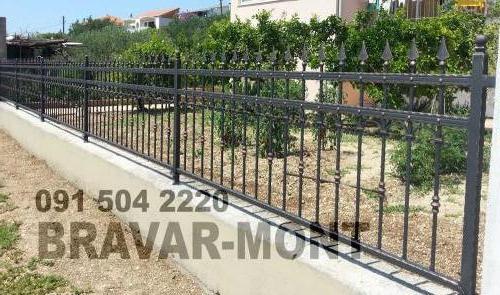 Bravar-Mont-209 kovane ograde za dvorista