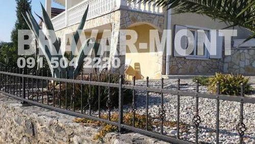 Bravar-Mont-214 kovane ograde za dvorista