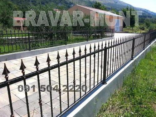 Bravar-Mont-216 kovane ograde za dvorista