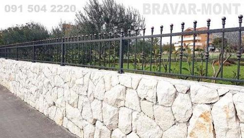 Bravar-Mont-217 kovane ograde za dvorista