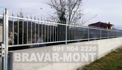 Bravar-Mont-220 kovane ograde za dvorista
