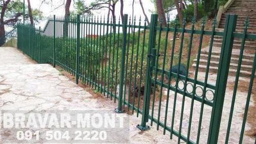 Bravar-Mont-233 kovane ograde za dvorista