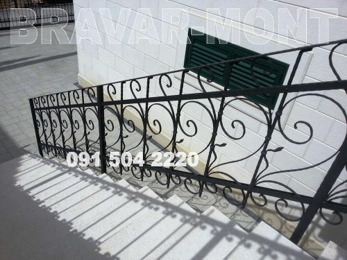 Bravar-Mont-111 kovane ograde za stepenice