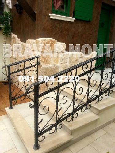 Bravar-Mont-112 kovane ograde za stepenice