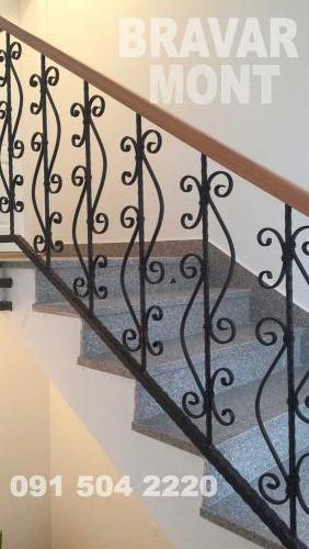 Bravar-Mont-114 kovane ograde za stepenice