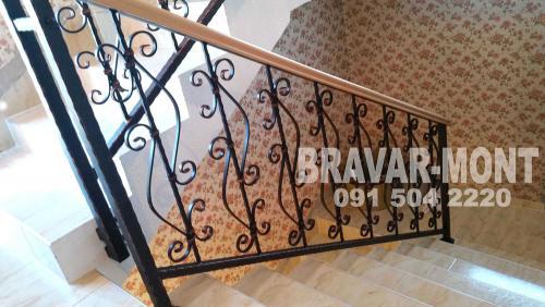 Bravar-Mont-115 kovane ograde za stepenice