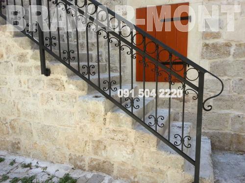 Bravar-Mont-118 kovane ograde za stepenice