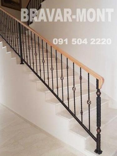 Bravar-Mont-120 kovane ograde za stepenice
