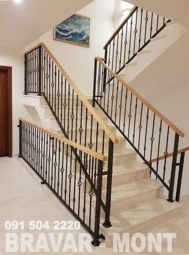 Bravar-Mont-121 kovane ograde za stepenice