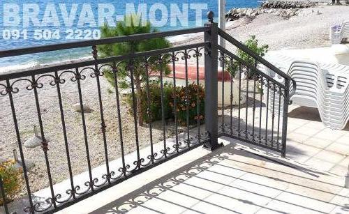 Bravar-Mont-122 kovane ograde za stepenice