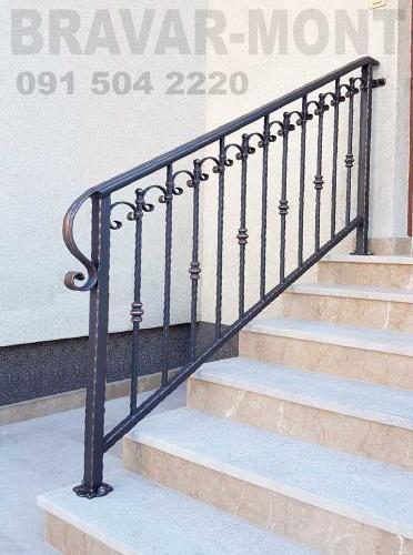 Bravar-Mont-123 kovane ograde za stepenice