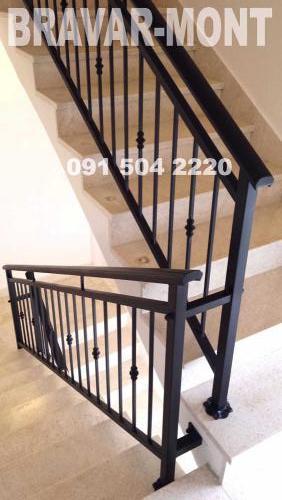 Bravar-Mont-136 kovane ograde za stepenice