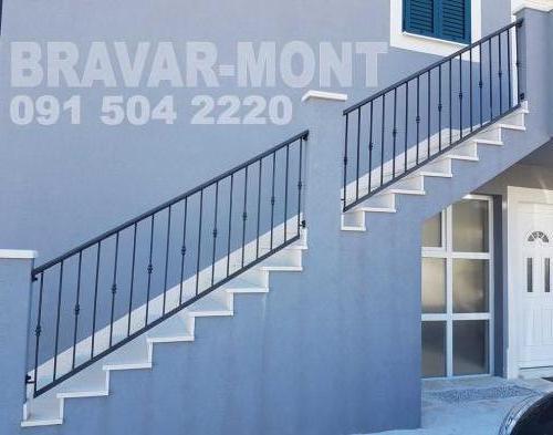 Bravar-Mont-138 kovane ograde za stepenice