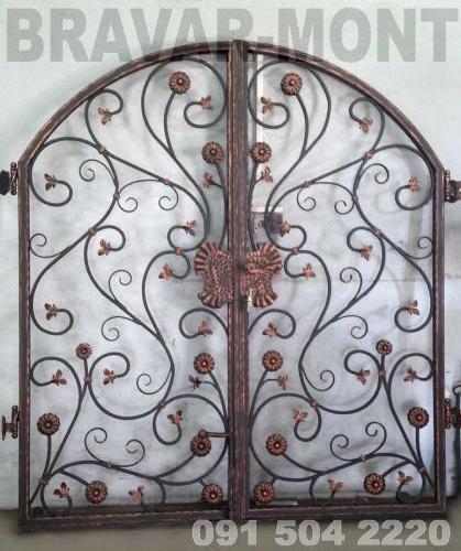 Bravar-Mont-051 kovane pjesacke kapije vrata
