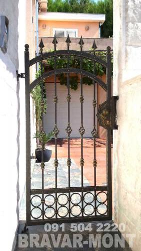 Bravar-Mont-061 kovane pjesacke kapije vrata