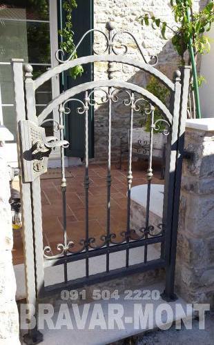 Bravar-Mont-063 kovane pjesacke kapije vrata