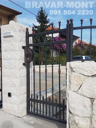 Bravar-Mont-071 kovane pjesacke kapije vrata