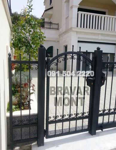Bravar-Mont-073 kovane pjesacke kapije vrata