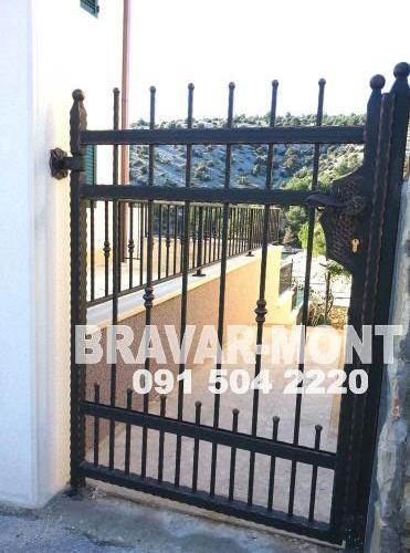 Bravar-Mont-074 kovane pjesacke kapije vrata