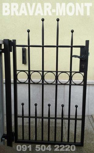 Bravar-Mont-077 kovane pjesacke kapije vrata