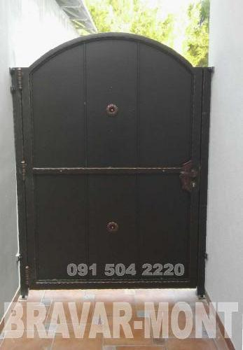 Bravar-Mont-092 kovane pjesacke kapije vrata