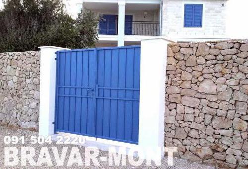 Bravar-Mont-095 kovane pjesacke kapije vrata