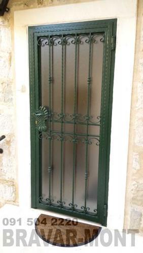 Bravar-Mont-097 kovane pjesacke kapije vrata
