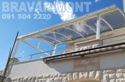 Bravar-Mont-625 polikarbonatne lexan svjetlosne konstrukcije